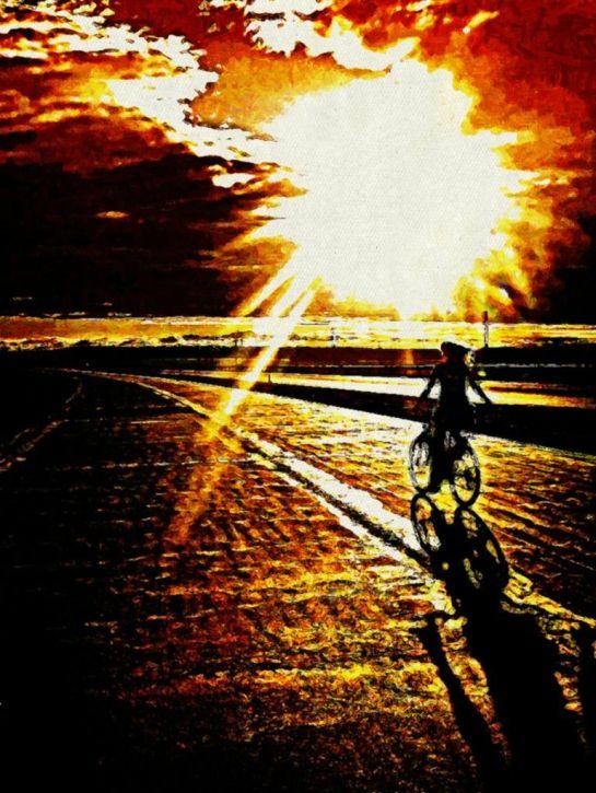 Droga w światło Sajmon Grafika Graficzek