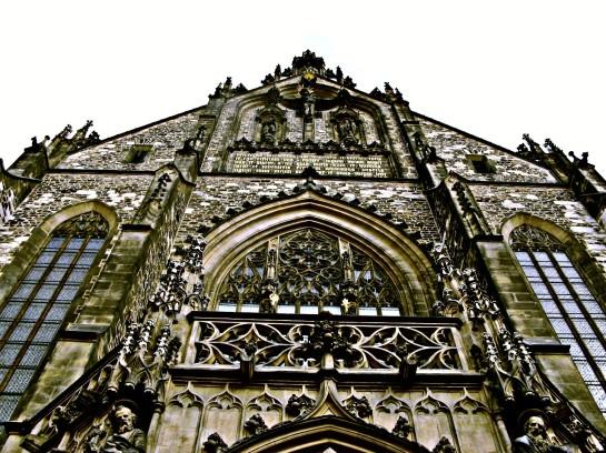 Gotycki kościół katedra Grafika Grafiki Obrazy Zdjecia Sajmon Graficzek