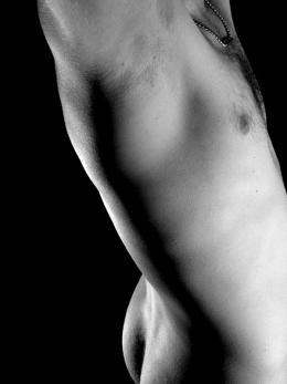 Ciało mężczyzny piersi pośladki tyłek GrafikaGrafiki